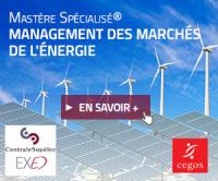 Mastère spécialisé MANAGEMENT DES MARCHES DE L'ENERGIE - CEGOS